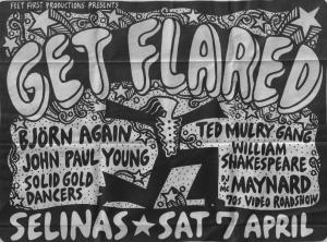 Get Flared Concert Ad 7 4 90