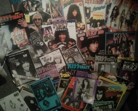 forget the internet kids - Kiss zines ruled !
