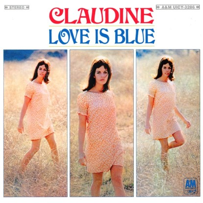CLAUDINE-LOVE IS BLUE front