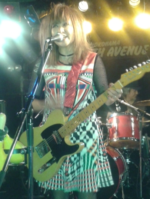 Kanako rock 'n' roll - 7th Ave. Yokohama. Photo (c) C. GRAY
