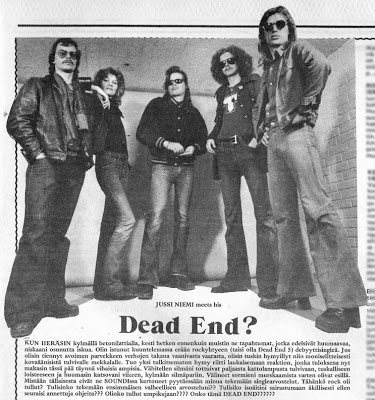 What's The Rockbrat Listening To Today? DEAD END 5